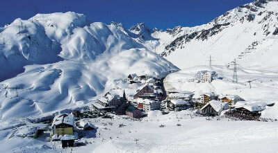 Transfers from Salzburg Airport to Sankt Anton am Arlberg